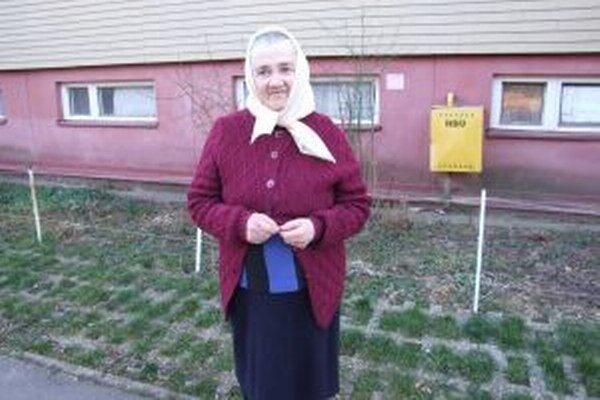 Mária Holovina. Myslí si, že informácie o situácii na Ukrajine sú často skreslené.