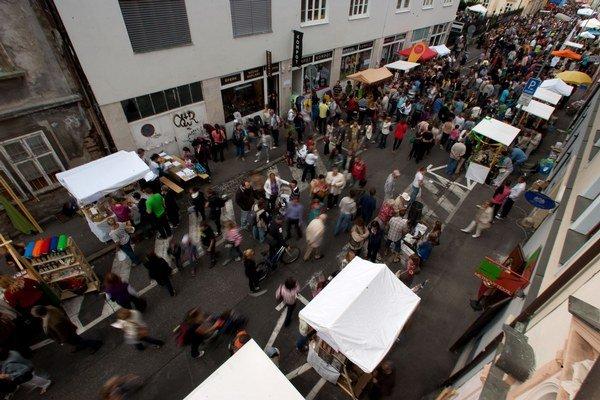 Dobrý trh už dva roky mení Panenskú uličku.