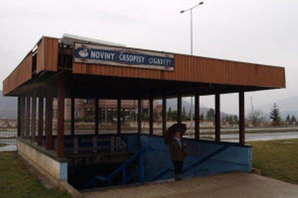 Podchod v centre Žiaru dlhodobo chátra.