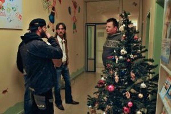Videoklip natáčali na detskom oddelení.