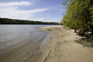 Dunaj pri ostrove Sihoť.