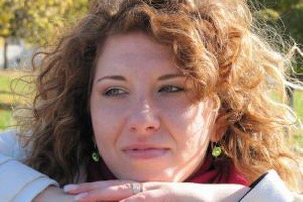 Kristína Falťanová. Jej knižnú prvotinu uvedú do života v polovici novembra.