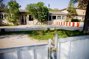 Búranie PKO v roku 2009.