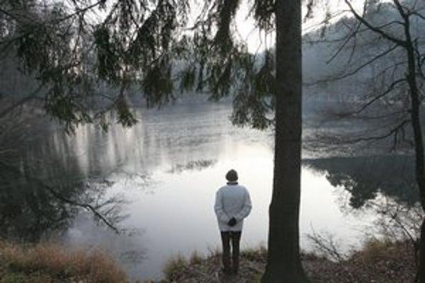 Jazero na železnej má svoju atmosféru.