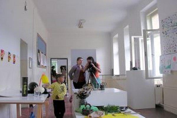 Workshop. Deti rekonštruovali sériu dobových fotografií z Píly.