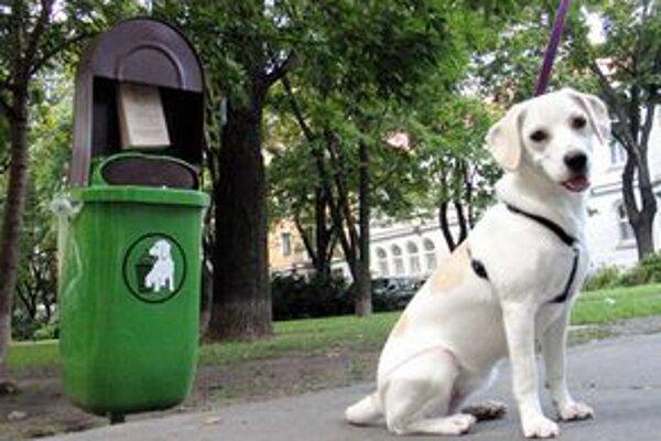 V Petržalke sa často ľudia sťažujú, že koše na exkrementy bývajú preplnené a sáčky zmiznú už ráno.