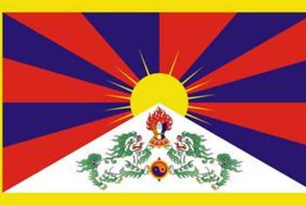 Tibetská vlajka.