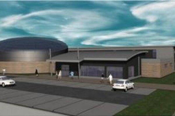 Hlavný bazén by mal mať dĺžku 25 metrov a šírku približne 12 metrov.