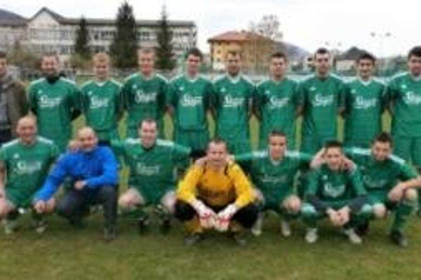 Víťaz II. triedy Sever TJ Sokol Tekovská Breznica.