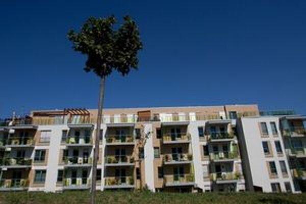 Nové byty sú hlavne v Novom Meste a Rači.