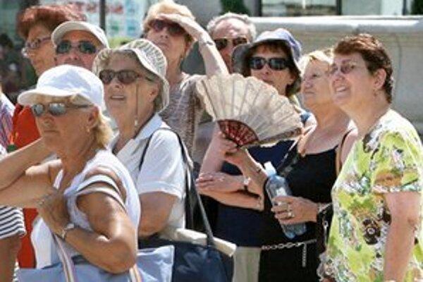Oproti roku 2011 hlavné mesto navštívilo o vyše šesť percent turistov viac.