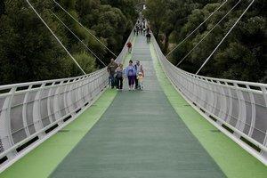 Most pre cyklistov otvoria opäť v pondelok popoludní.