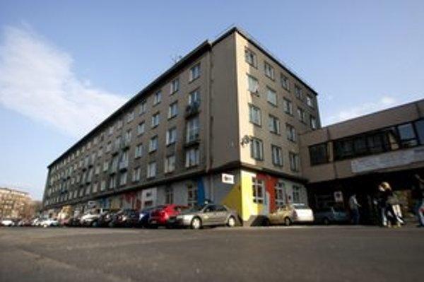 Budova ubytovne na Páričkovej ulici. Má sa prestavovať na malé byty.