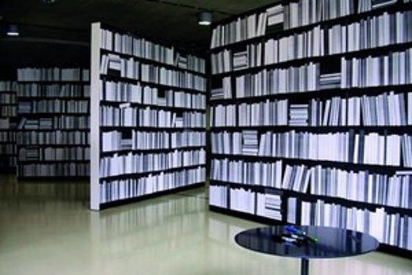 Z výstavy SNG - Delete. Jaroslav Varga Bez názvu / Knižnica 8. 6. 2011 – 8. 7. 20112011