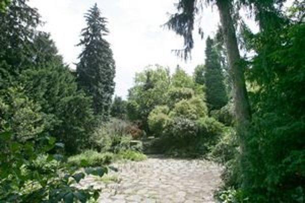 Záhradu otvorili len počas Víkendu parkov a záhrad v roku 2008.