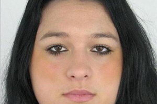 19-ročná Natália Šípošová sa odvčera nevrátila domov.