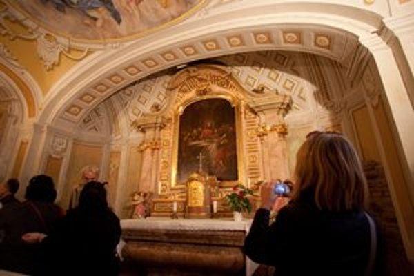 Kaplnka Božieho Tela na Panskej 11 nie je bežne prístupná. Otvorili ju pre verejnosť v sobotu, pri príležitosti Dní kultúrneho dedičstva.