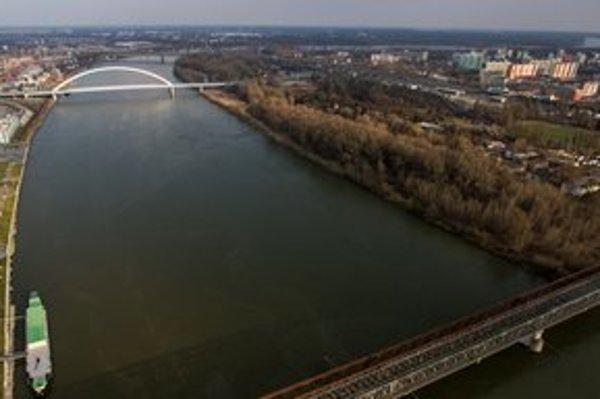 Lesík na pravom brehu Dunaja je zanedbaný. Dobrovoľníci chcú doň prilákať bežcov a výletníkov.
