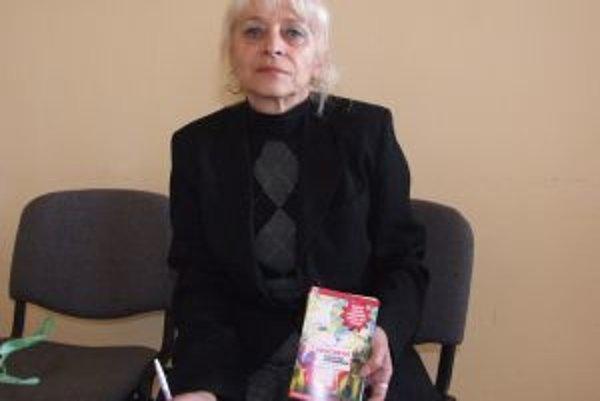 Vladislava Hoffmannová. Žiarčanom vyrozprávala svoj príbeh, ktorý vyšiel aj knižne.