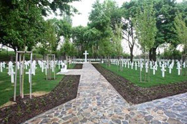 Cintorín vynovili v roku 2009.