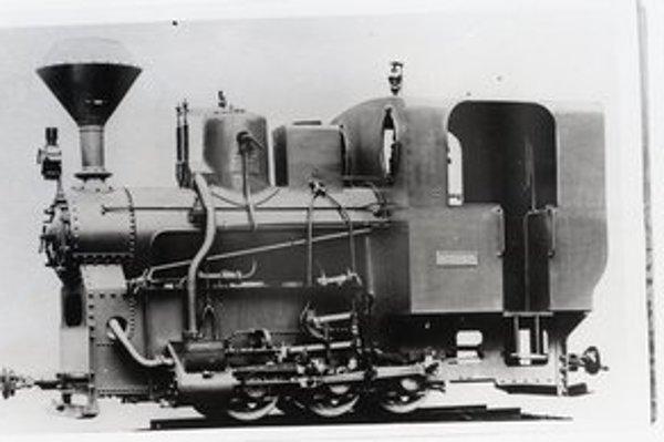 Legendárna lokomotíva kedysi.
