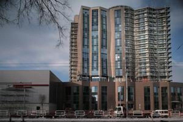 O hostí nemá núdzu ani nový hotel Juraja Širokého v susedstve zimného štadióna.