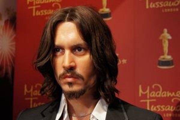 Johnny Depp ako živý. Viedeň sa stala v poradí jedenástym mestom na svete, kde možno vidieť voskové  figuríny známych osobností.