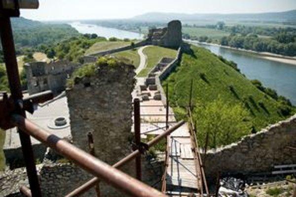 Na horný hrad Devína, miesto s najkrajším výhľadom, sa ľudia nedostanú už od roku 2008, odvtedy sú odkryté aj niektoré nálezy.
