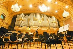 Hlavná sála. V Redute sídli Slovenská filharmónia.a