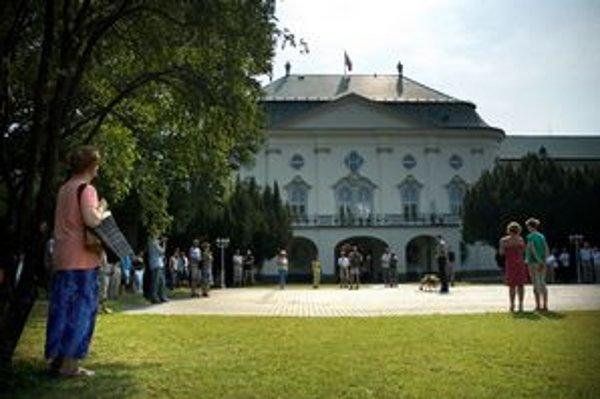 Záhrada Úradu vlády bola dnes prístupná verejnosti.