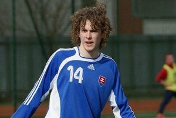 Denis Ceplák. V zápase proti Poľsku.