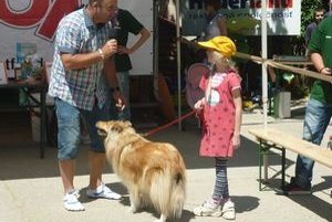 Kólia Cora zvíťazila v kategórii Dieťa a pes