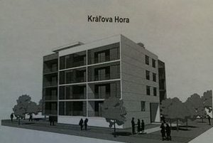 Jedna z vizualizácií stavebného zámeru na Kráľovej hore.