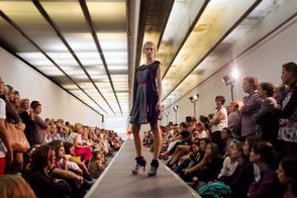 V sobotu večer bola v premostení Slovenskej národnej galérie módna prehliadka BLAF Style.