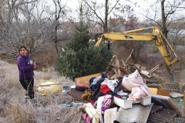 Obydlia v lokalite Pod Šibeničným vrchom zbúrali koncom novembra.
