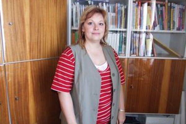 Lenka Ňuňuková, odborná zamestnankyňa Pohronského osvetového strediska v Žiari nad Hronom.