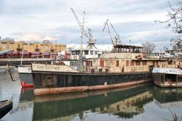 Loď Šturec dnes.