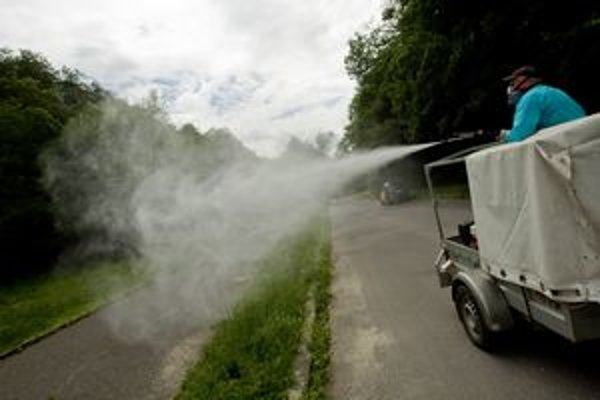 Vlani Bratislava komáre nestriekala, neboli. Chemix-D ich hubil naposledy v roku 2010.