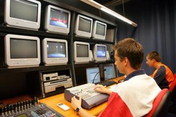 Priestory TV Centrum sú na Heydukovej ulici.