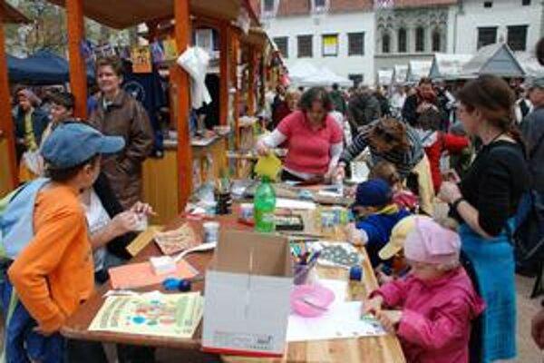 Námestie detí - na Hlavnom námestí sobotu - 24. apríla.