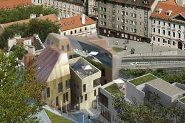 Projekt sa teraz etapizuje, prvá by sa mohla začať stavať časť pri Zámockých s chodoch.