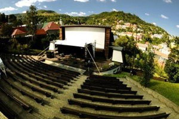 Letné kino v banskoštiavnickom amfiteátri je úspešné.