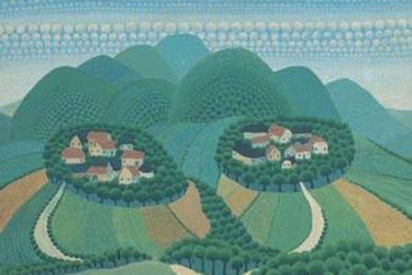 Ivan Rabuzin: Orehovecké vrchy (1959).