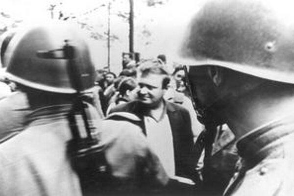 Bratislava v auguste 1968.