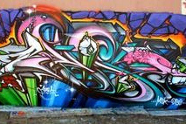 Grafiti amerického umelca Pose.