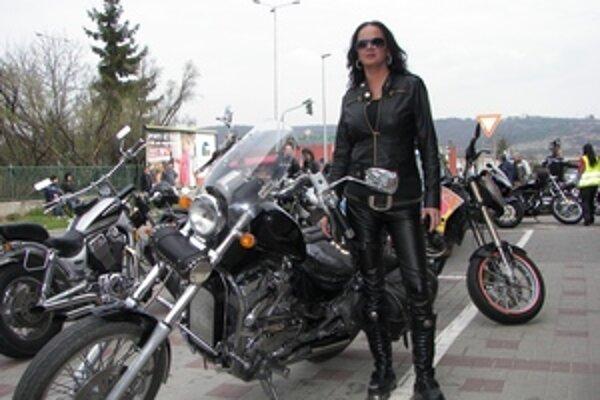 Beata Gáliková. Motorkou si splnila veľký sen.