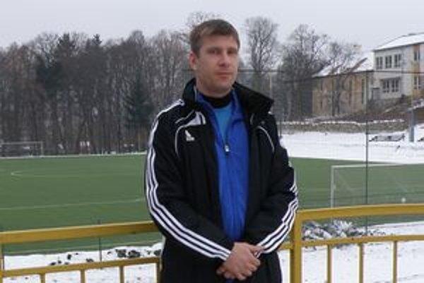 Martin Babinec. Tréner Dolnej Ždane pred prvým tréningom v novom pôsobisku.
