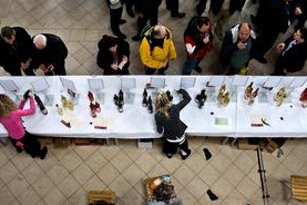 Ochutnávka trvá do 18.00 v Starej tržnici.
