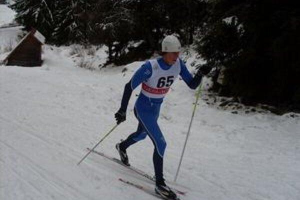 Martin Kapšo zvíťazil v spoločnej kategórii mužov a juniorov na 10 km klasickou technikou s intervalovým štartom.