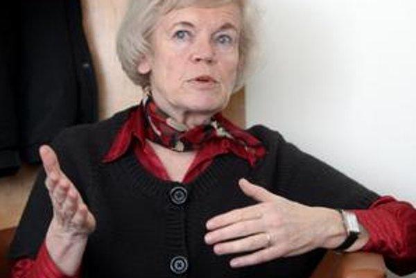 Jindra Holíková z Regionálneho úradu verejného zdravotníctva v Bratislave.
